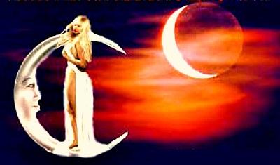 Убывающая луна и ее заговоры от Надежды.